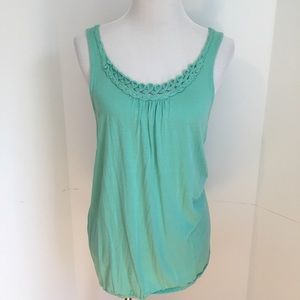 CASLON - Mint green  tank medium